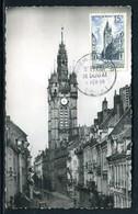 France - Carte Maximum 1956 - Douai , Le Beffroi - Cartas Máxima