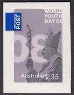Australia ASC 2529a 2008 World Youth Day Peel And Stick $ 1.35, Mint Never Hinged - 2000-09 Elizabeth II