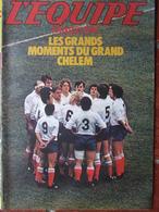 Revue - L'Equipe Magazine N°60 (28 Mars 1981) Rugby Moments Du Grand Chelem - Jazy - Grete Waitz - Jabouille - Sport