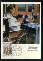 France - Carte Maximum 1964 - Paralysés - Maximum Cards