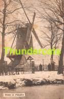 CPA TIEL THIELT MOLEN MOULIN LONCKE  WINTER IN FLANDERN FELDPOST - Tielt