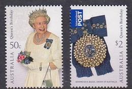 Australia ASC 2557-2558 2008 Queen's Birthday Set MNH - 2000-09 Elizabeth II