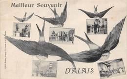 30-ALAIS- MEILLEUR SOUVENIR D'ALAIS MULTIVUES - Alès