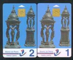 Fontaines Wallace 1 Et 2 - Parkkarten