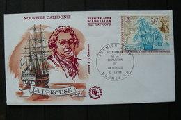 Nouvelle-Calédonie - Yv N°549 Sur FDC - Voilier - 1988 - Ships