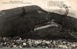 42 MONT-PILAT  LE MASSIF DU PILAT VU DE LA CROIX  DE L'OEILLON - Mont Pilat