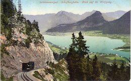 Salzkammergut -  Schafbergbahn  -  Blick Auf St. Wolfgang - St. Wolfgang