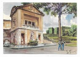 CITTA' DEL VATICANO - LA CASINA DI PIO IV  ILLUSTRATA A.RAIMONDI + PUBB.TA' KORES - NV FG - Vatican