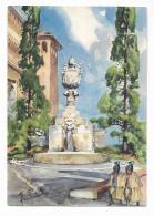 CITTA' DEL VATICANO - LA FONTANA DEL MASCHERONE ILLUSTRATA A.RAIMONDI + PUBB.TA' KORES - NV FG - Vatican