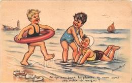 GERMAINE BOURRET     ILLUSTRATEUR ENFANT  PLAGE - Bouret, Germaine