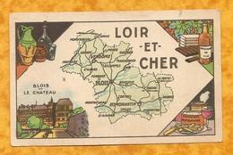 CHROMO IMAGE CHOCOLAT TURENNE DÉPARTEMENT LOIR ET CHER ( 41 ) -BLOIS ROMORANTIN VENDOME MORÉE - Autres