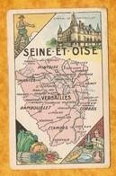 CHROMO IMAGE CHOCOLAT TURENNE DÉPARTEMENT SEINE ET OISE VAL D'OISE ( 78 95 ) - VERSAILLES PONTOISE RAMBOUILLET - Autres