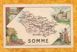 CHROMO IMAGE CHOCOLAT TURENNE DÉPARTEMENT SOMME ( 80 ) - AMIENS DOULLENS ABBEVILLE PERONNE MOREUIL - Autres