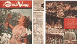 RIVISTA I GRANDI VIAGGI 1956/11-12:mensile Di Turismo E Varietà. - Gezondheid En Schoonheid