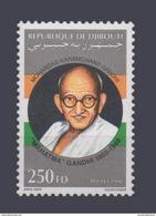 DJIBOUTI MAHATMA GANDHI GHANDI Michel Mi 660 1998 MNH ** RARE - Mahatma Gandhi