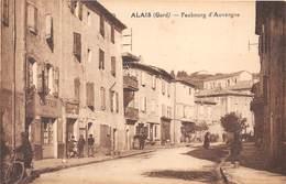 30-ALAIS- FAUBOURG D'AUVERGNE - Alès