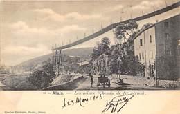 30-ALAIS- LES MINES ( CHEMIN DE FER AERIEN ) - Alès