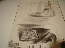 ANCIENNE PUBLICITE JOAILLIER BOUCHERON 1941 - Other