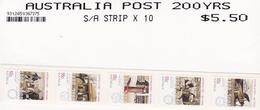 Australia ASC 2657a-2661a 2009 Australia Post 200 Years Self-Adhesive MNH - 2000-09 Elizabeth II