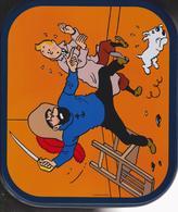 """Tintin -  """"Le Secret De La Licorne ) Boîte à Biscuit Delacre (grand Format) - Autres"""