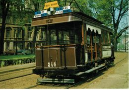 BRUXELLES-AVENUE LOUISE-TRAM CALIFORNIA-BOURSE-PLACE STEPHANIE-BOIS - Vervoer (openbaar)
