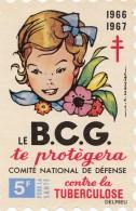 Comité National De Défense Contre La Tuberculose Et Les Maladies Respiratoires 19661967  (LOT AE8) - Erinnofilia