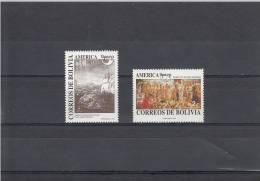 Bolivia Nº 798 Al 799 - Bolivia
