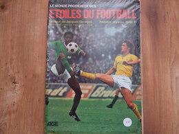 Album Complet étoiles Du Football 1970 1971 Avec Autographes AGE éducatif Pas Panini - Vignettes Autocollantes