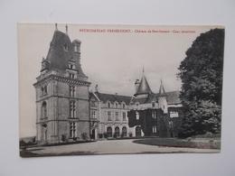 CPA 88- NEUFCHATEAU-FREBECOURT, Château De BOURLEMONT, Cour Intérieur - Carte Originale NO REPRO, Dos Divisé - Neufchateau