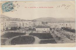 Corse Du Sud Ajaccio  Arrivee D Un Courrier Place - Ajaccio