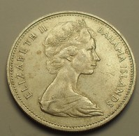 1966 - Bahamas - TWO DOLLARS, Argent, Silver, KM 9 - Bahamas