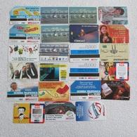 Lot 23 MONDE Sans Puce - Télécartes
