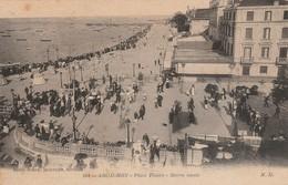 Gironde : ARCACHON : Place Thiers - Marée Haute - Arcachon