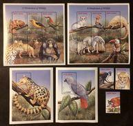 Sierra Leone 1999** Mi.3232-34, Klb.3235-40,3241-46, Bl.416,415 Animals MNH [21;45] - Postzegels