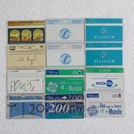 Lot 12 TC MONDE Sans Puce - Télécartes