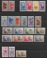 MADAGASCAR - FRANCE LIBRE -YT N° 242/264 * (243 SIGNE BRUN) - COTE = 312 EUR - Madagascar (1889-1960)