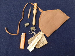 TROUSSE A COUTURE ARMEE FRANCAISE 14-18 Ou 1940 - Equipement