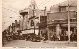 BORDEAUX - Angle Boulevard Wilson, Rue Judaïque, Cinéma Luxor, Animée - Bordeaux