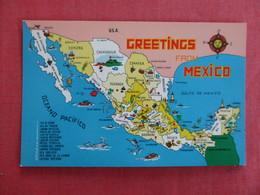 Map  Mexico Ref 3018 - Mexique