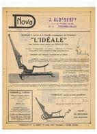 DNOVA J. ALDEBERT à FRESNES (NORD) - Advertising