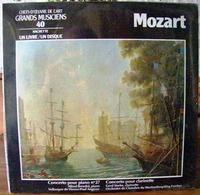 33 TOURS N° 40 VINYLE GRANDS MUSICIENS 1 LIVRE + 1 DISQUE 1990 NEUF MOZART SOUS FILM PLASTIQUE D'ORIGINE CONCERTO POUR P - Classique