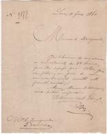 Jen. Commune De Baudour. N°9177. Lens, Le 11/02/1860. - Belgique