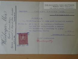 DC51.9 Invocie Weinberger Mór - Budapest  1934 - Revenue Stamp - Invoices & Commercial Documents