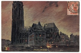 Malines - L.V.C. W4 - C.P.I. - 1916 - 1900-1949