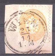 Autriche - 1863/64 - N° 27 (dentelé 9½) Sur Fragment - Gebraucht