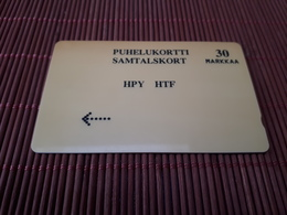 Phonecard Finland Number 12FINA Very Rare - Finland