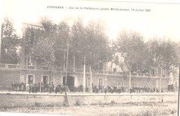 FR66 PERPIGNAN - Gilles - Manifestations Viticoles 1907 - Préfecture Gardée Militairement Le 14 Juillet - Animée - Belle - Ereignisse