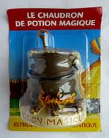 FIGURINE EN RESINE ASTERIX ATLAS 00 CHAUDRON DE POTION MAGIQUE (2) Neuf Sous Blister - Asterix & Obelix