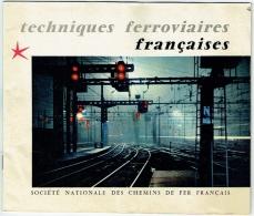 Train. Chemins De Fer Français. Techniques Ferroviaires. Sigle Expo 58. - Livres, BD, Revues