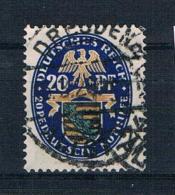 Deutsches Reich 1925 Wappen Mi.Nr. 377 Gestempelt - Gebraucht